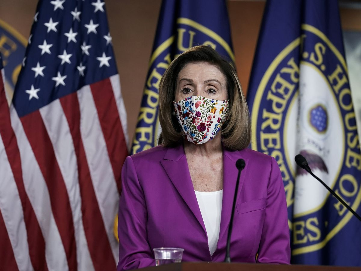 Pelosi says House will impeach Trump, pushes VP to oust him