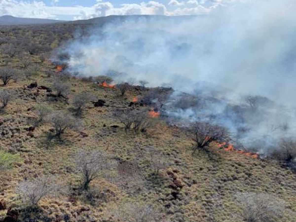 Brush fire on Kahoolawe burns 6,400 acres, claims several structures