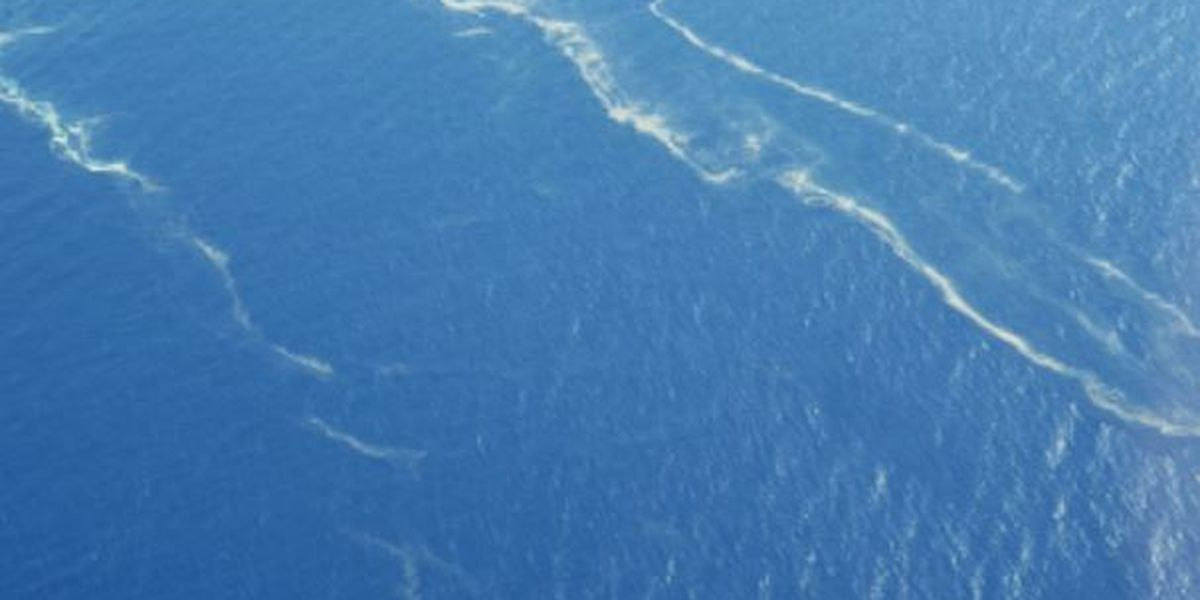 A long green slick off Hawaii has folks perplexed. Here's what it is.