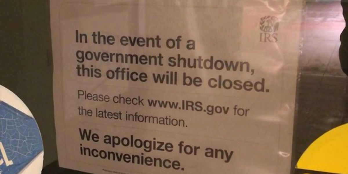 From taxes to whale counting, the partial government shutdown is packing a punch