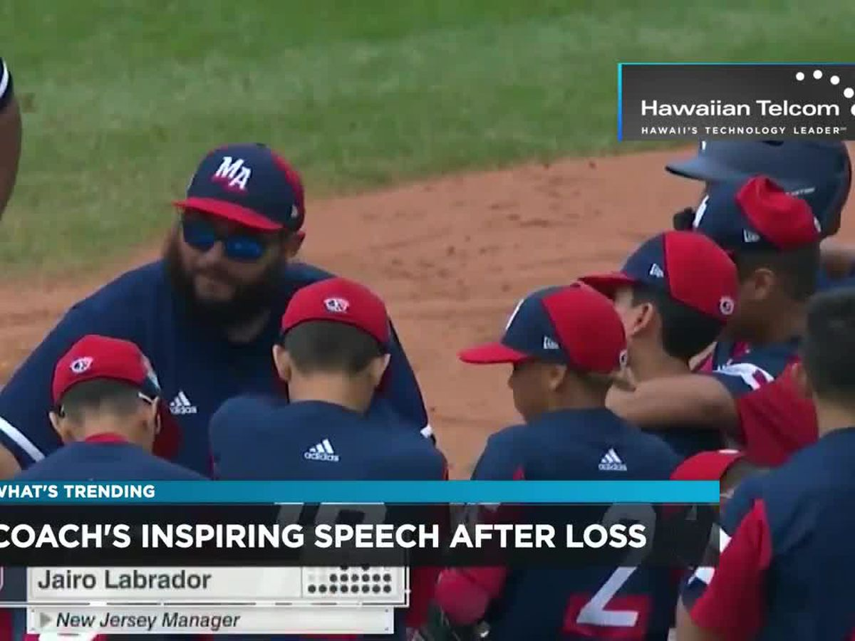 What's Trending: Words to Team after losing in Little League World Series