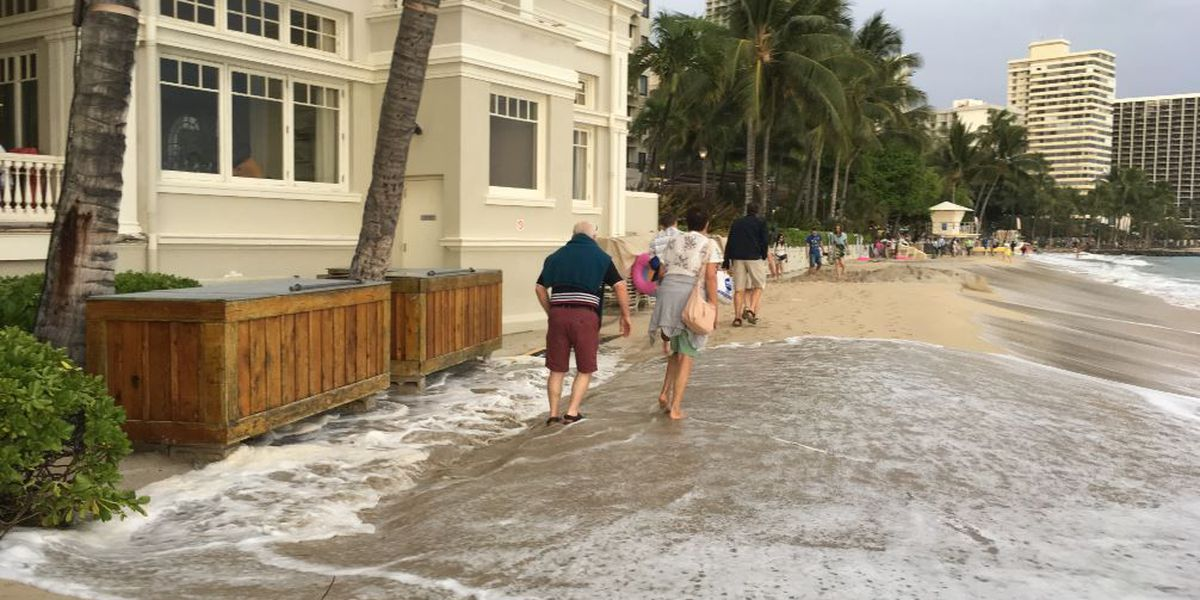 2018 to begin with rare New Year's king tide