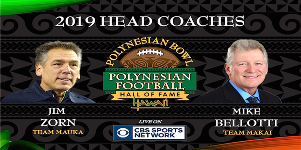 Head coaches announced for 2019 Polynesian Bowl