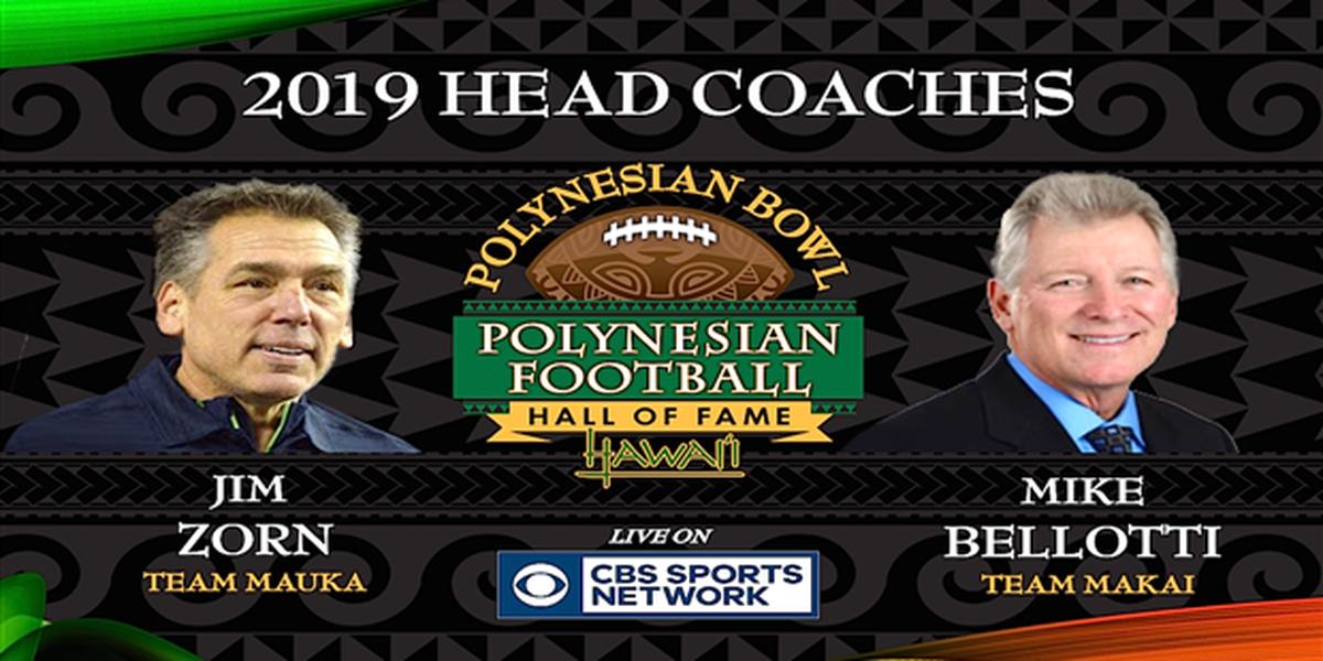 Head coaches announced for 2019 Polynesian Bowl