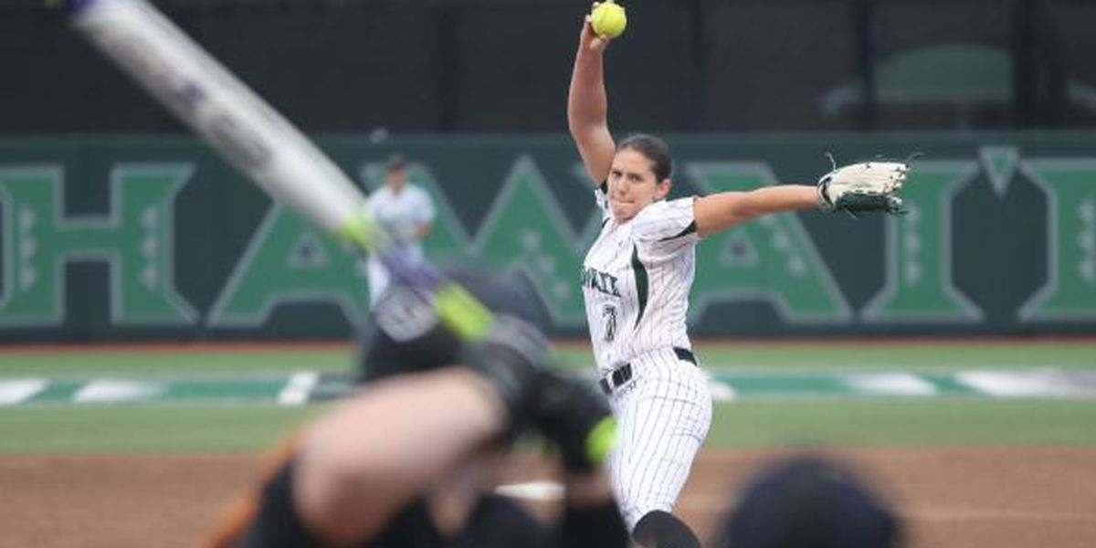 Wahine split doubleheader against UC Davis