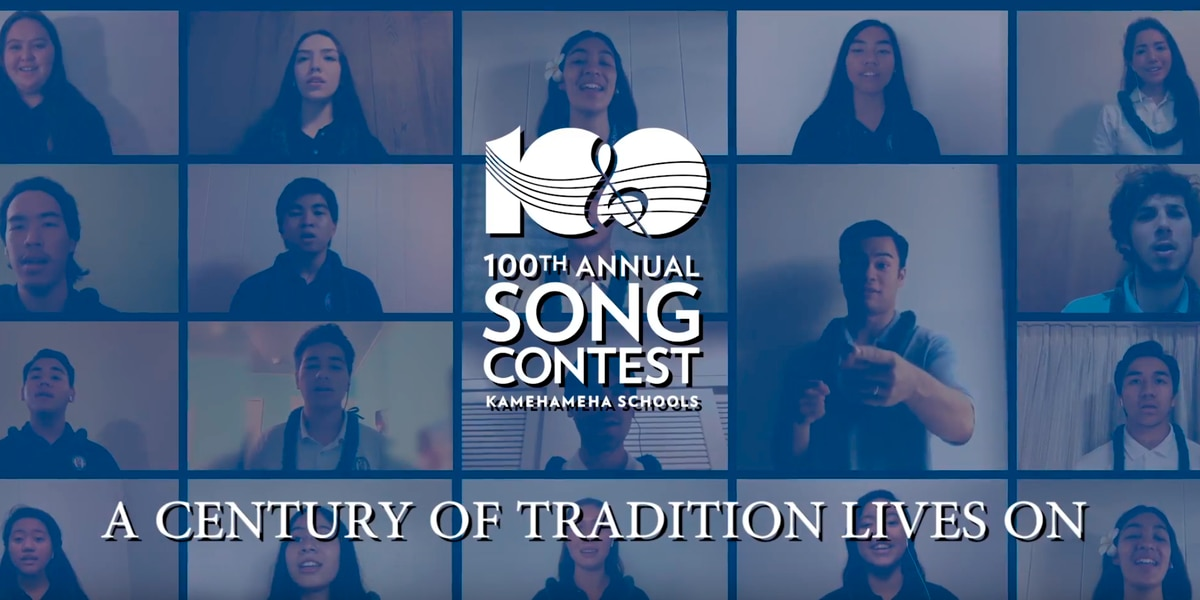 Kamehameha Schools to debut virtual choirs for 100th song contest