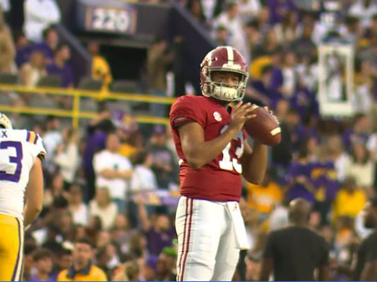 Tagovailoa and Lawrence listed as Heisman front runners in 2019