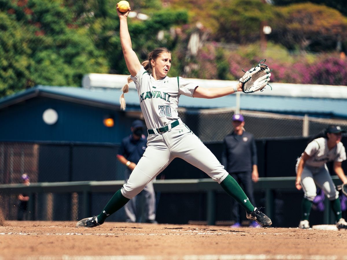 Wahine softball gets swept by Washington in season opening series