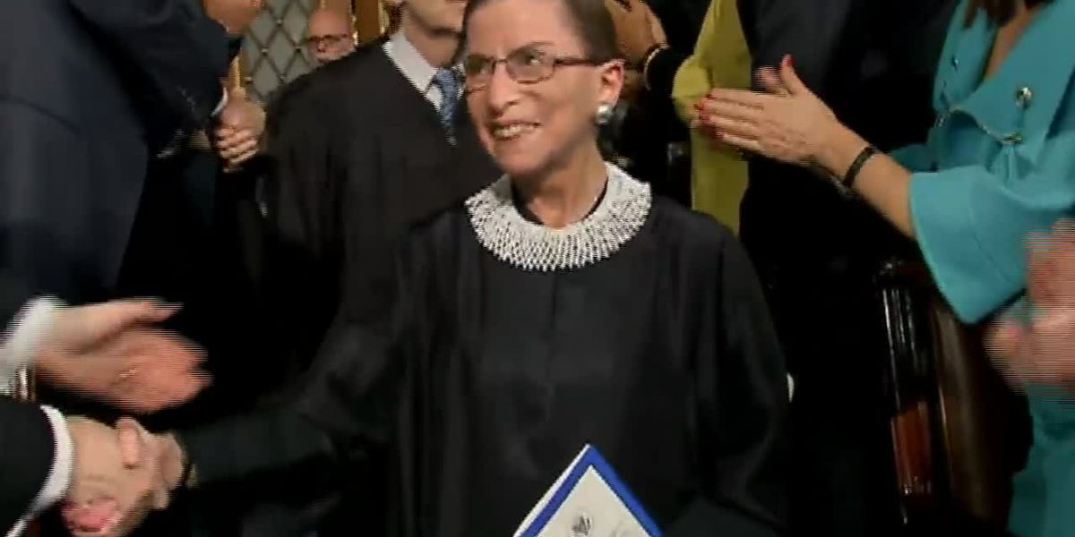 Huge loss felt after Justice Ginsburg's death