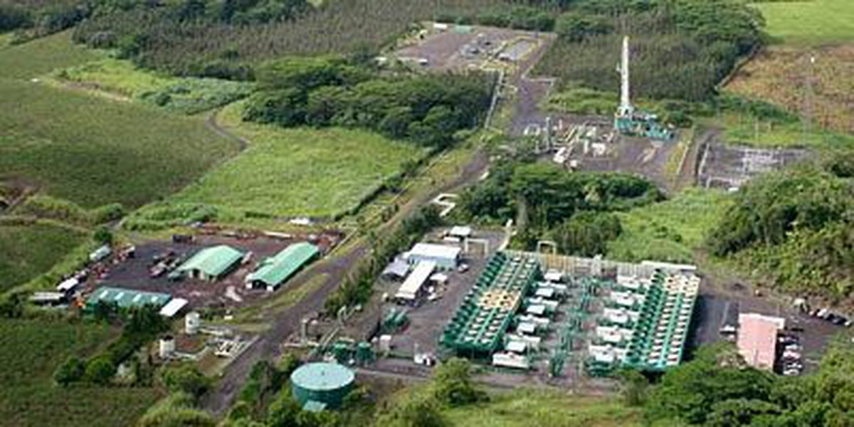 Tropical Storm-related Information from Puna Geothermal Venture