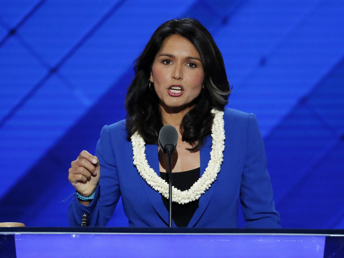 Used to bucking establishment, Gabbard eyes White House run