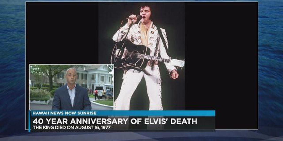 Thousands flock to Graceland for Elvis Week