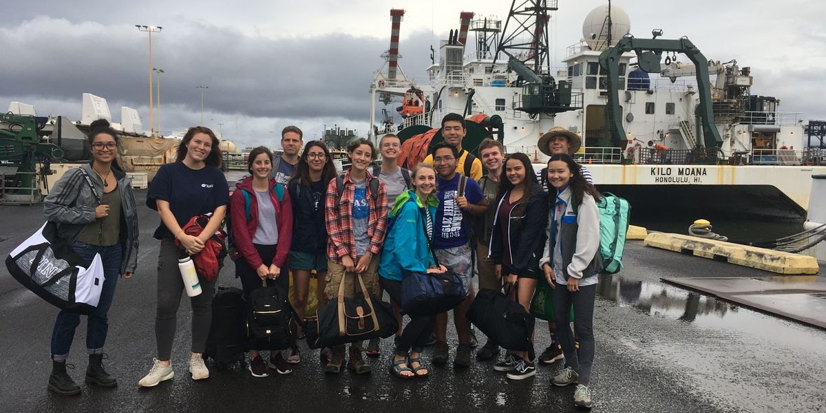 UH students set off to explore uncharted volcanic zones off Kaho'olawe