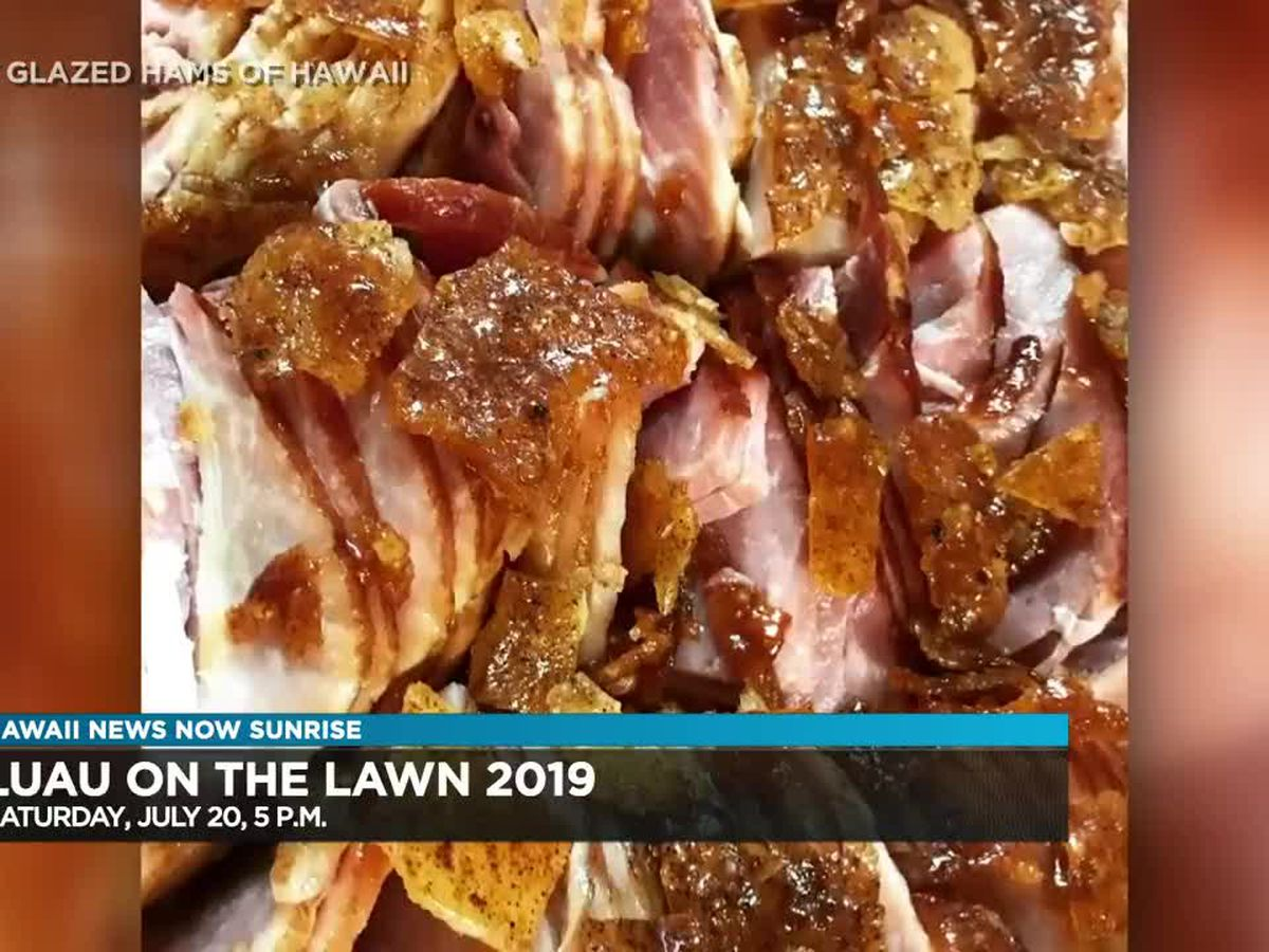 More than two dozen food vendors to participate in upcoming Luau on the Lawn event