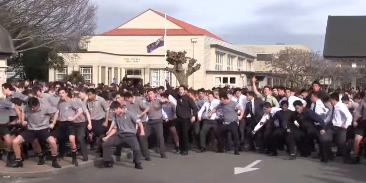 New Zealand students perform emotional haka to honor late teacher