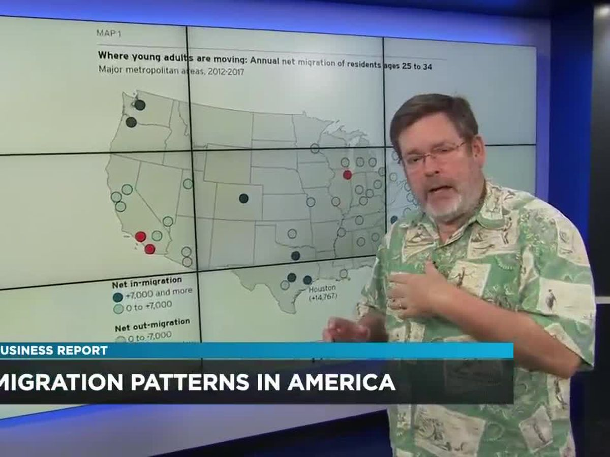 Business Report: America's changing migration patterns