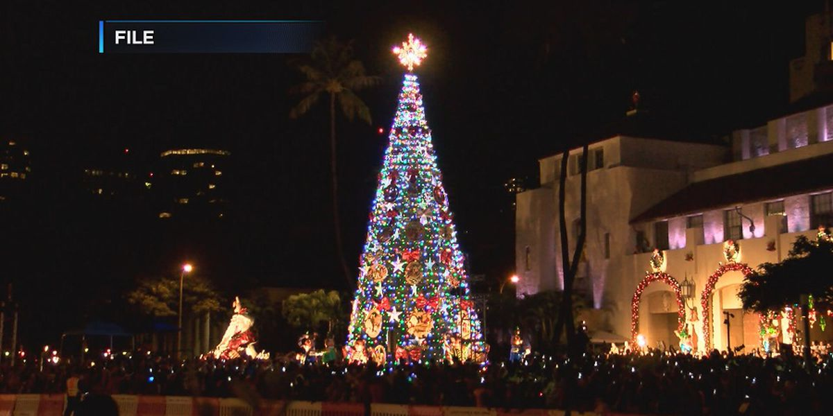 Mark your calendars: The Honolulu City Lights event is almost here!