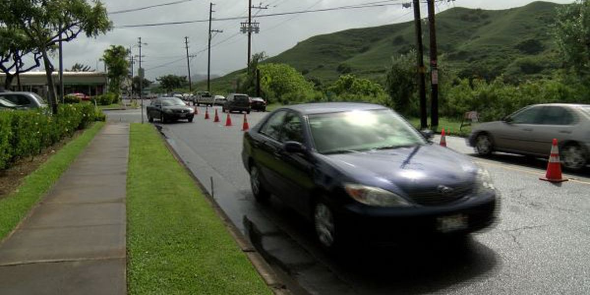 Some worry Kailua bike lane could worsen parking woes