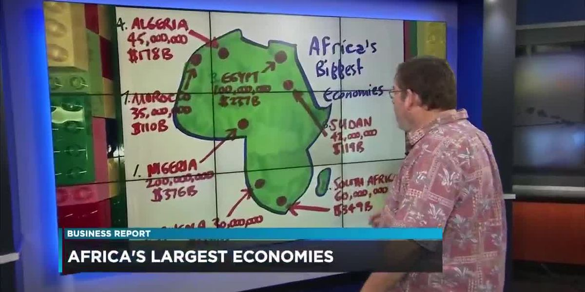 Business: Largest economies in Africa