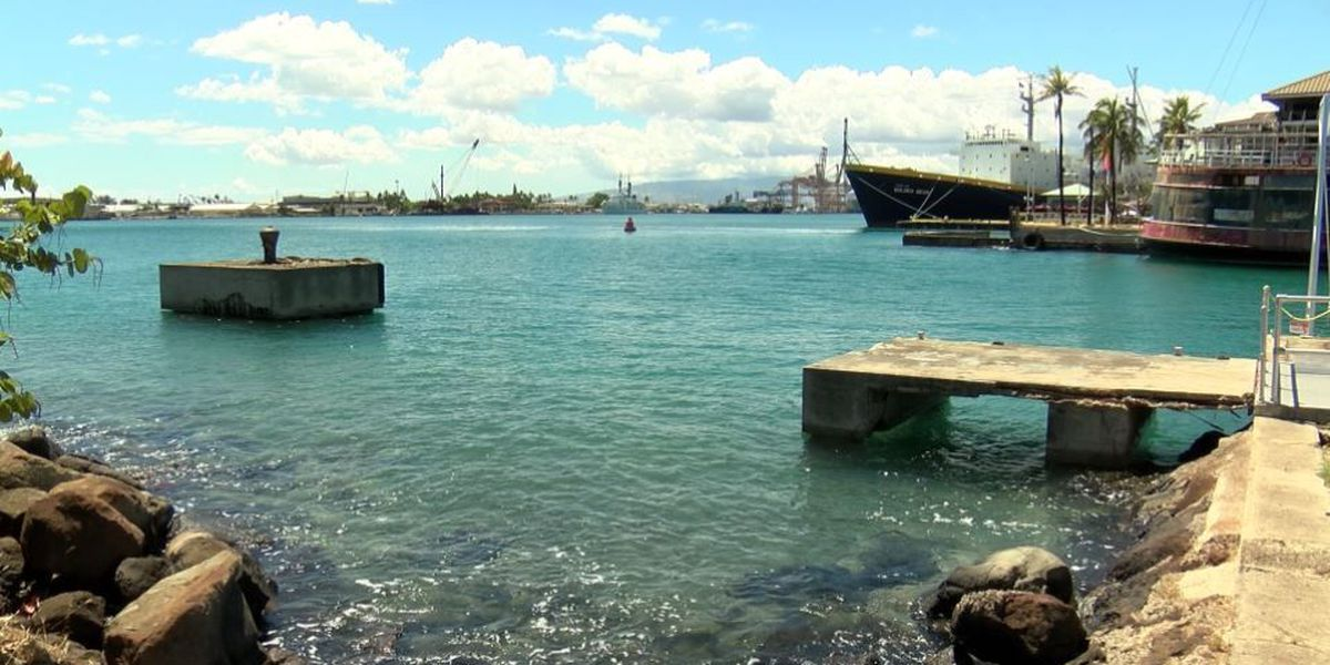 Warning signs posted after 3K gallons of wastewater spills into Honolulu Harbor