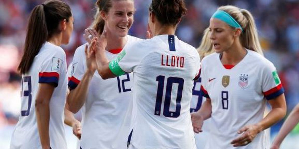 USA takes on England in 2019 Women's World Cup semifinals