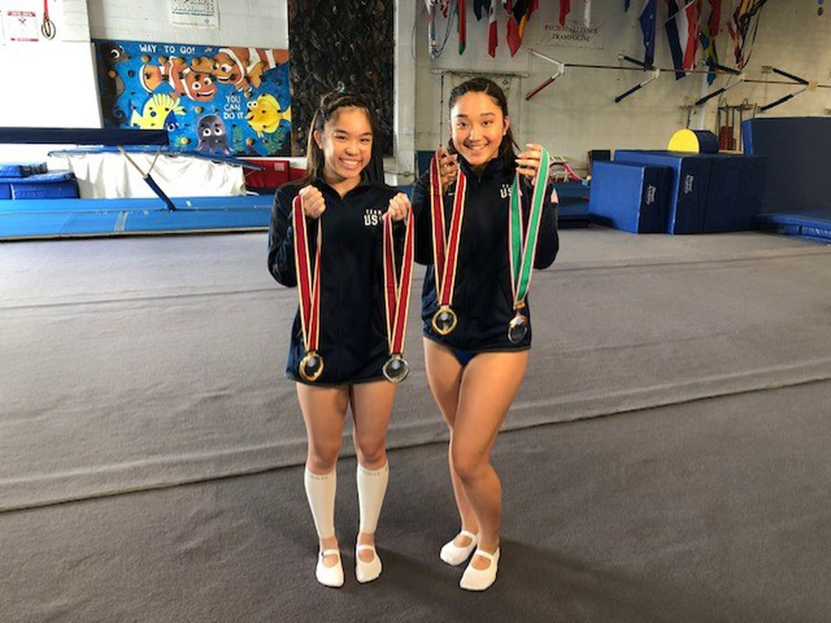 Hawaii trampoline gymnasts dream of soaring at Olympic Games