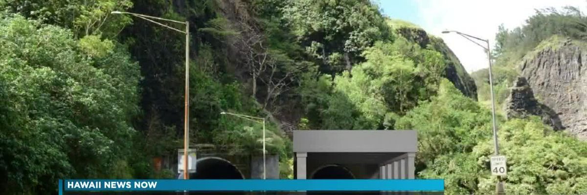 Repairs to Honolulu-bound lanes of Pali Highway to last through August