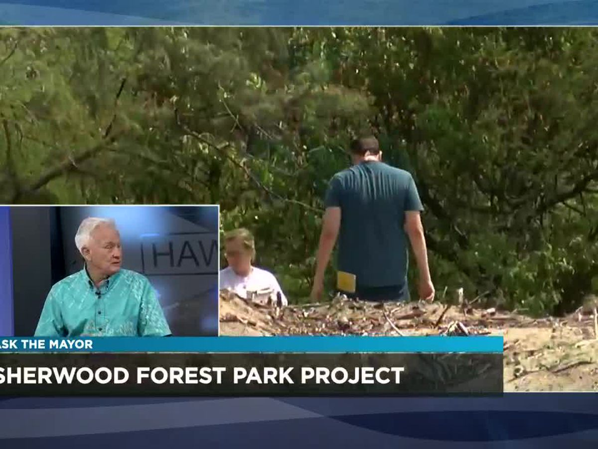 Ask the Mayor: Update on the Sherwood Forest Park project, priorities for 2020 legislative session