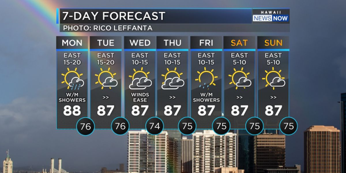 Forecast: Trade winds return with the best weather on the planet