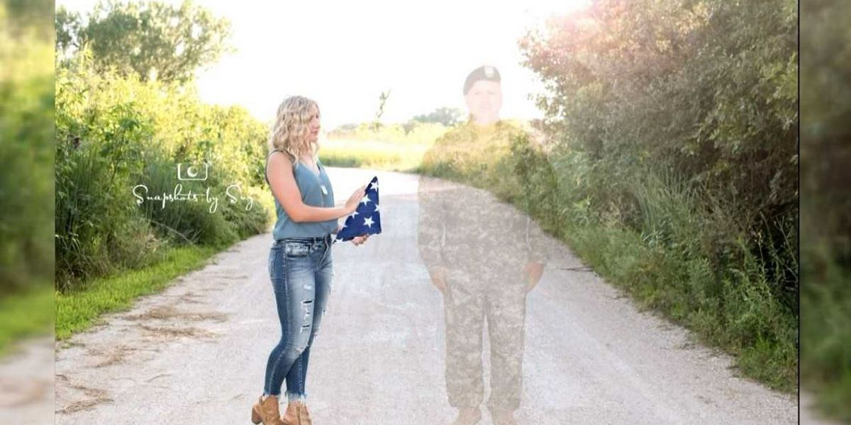 Nebraska teen uses senior photo shoot to honor father killed in Afghanistan
