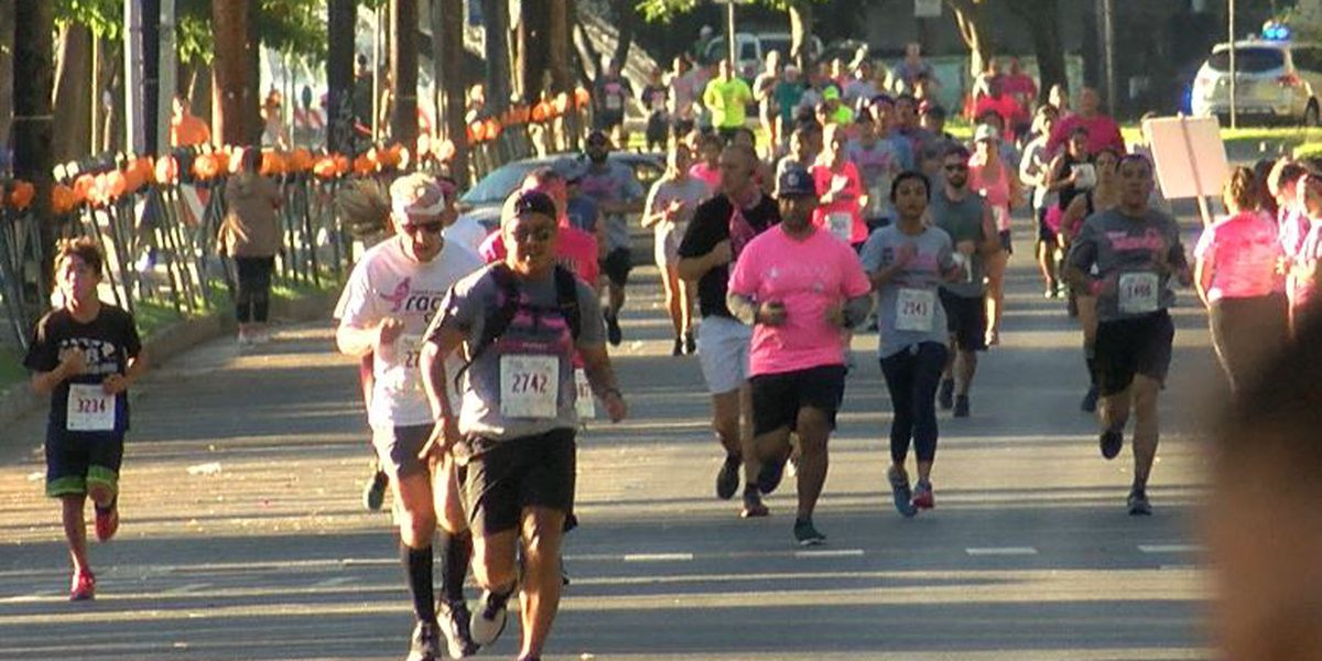 A sea of pink floods Kapiolani Park for breast cancer awareness
