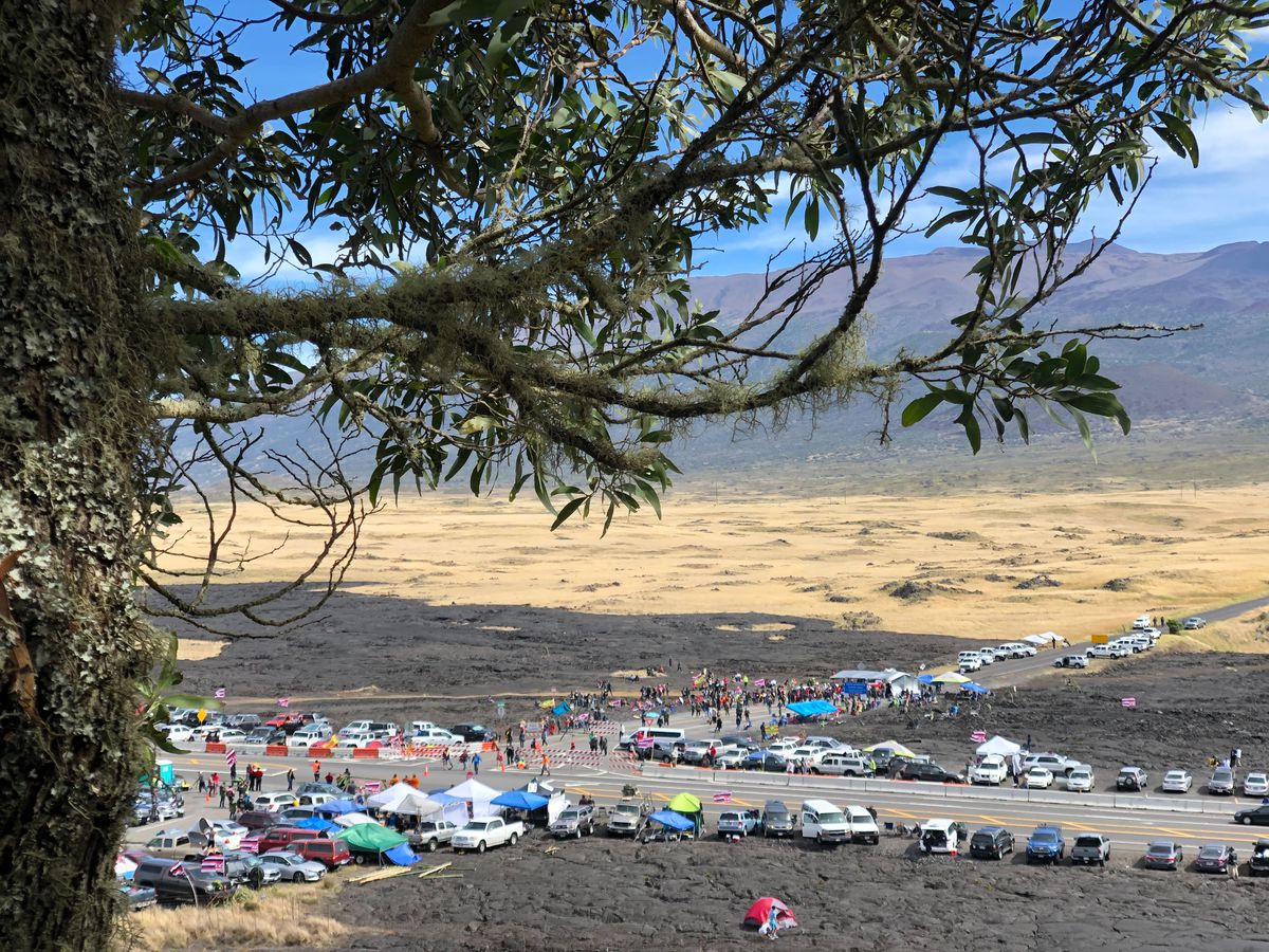PHOTOS: TMT protests at Mauna Kea continue into 4th day