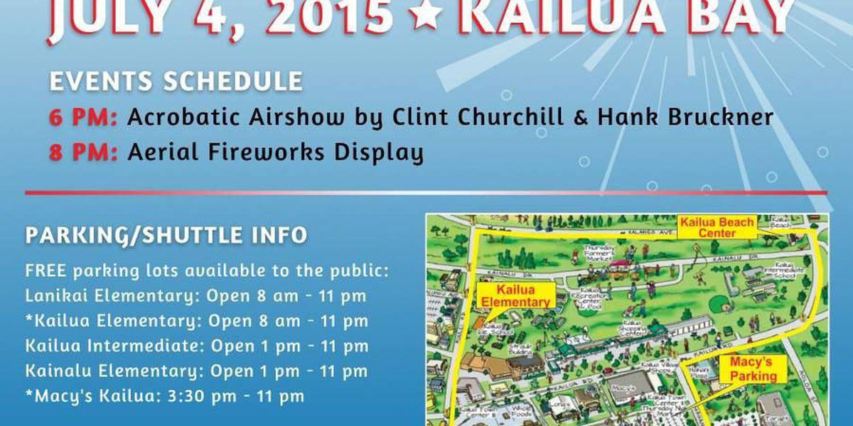 Kailua celebrates Fourth of July