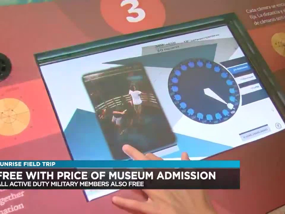 Sunrise Field Trip: MathAlive! exhibit at the Pearl Harbor Aviation Museum