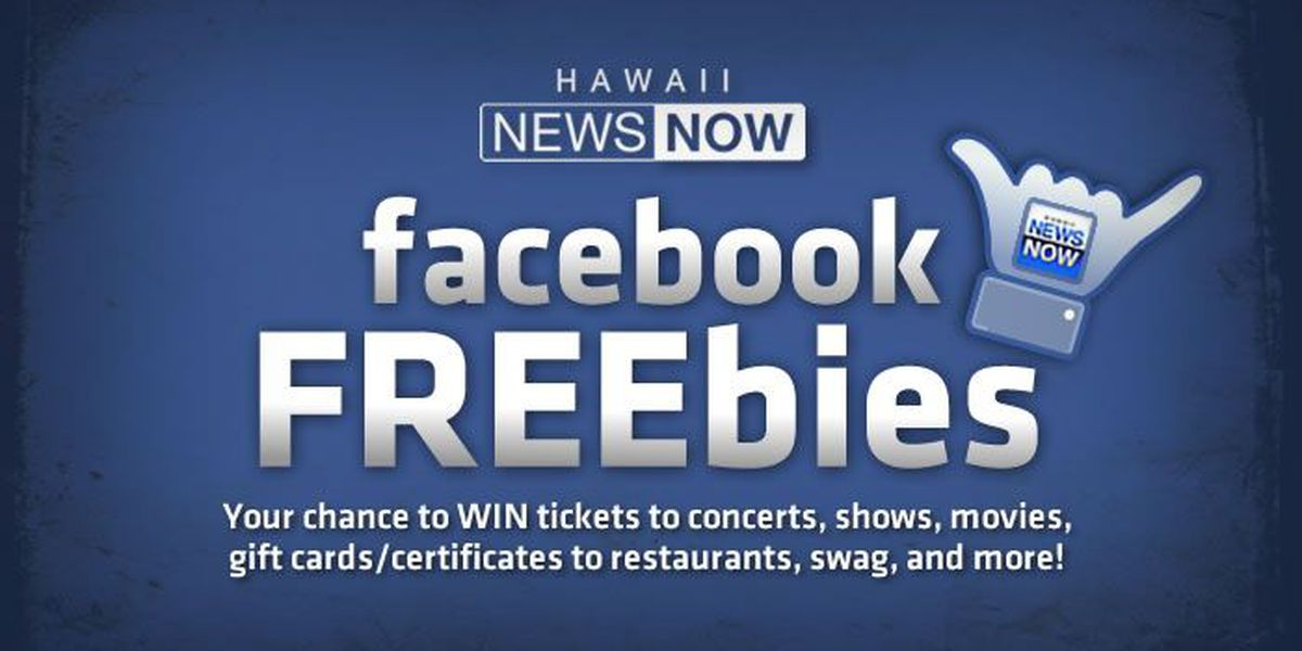 Hawaii News Now's Facebook FREEbies