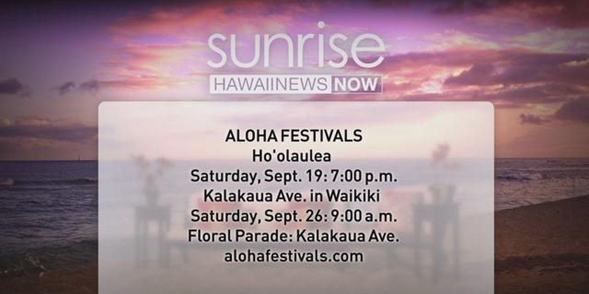 Aloha Festivals Waikiki Hoolaulea