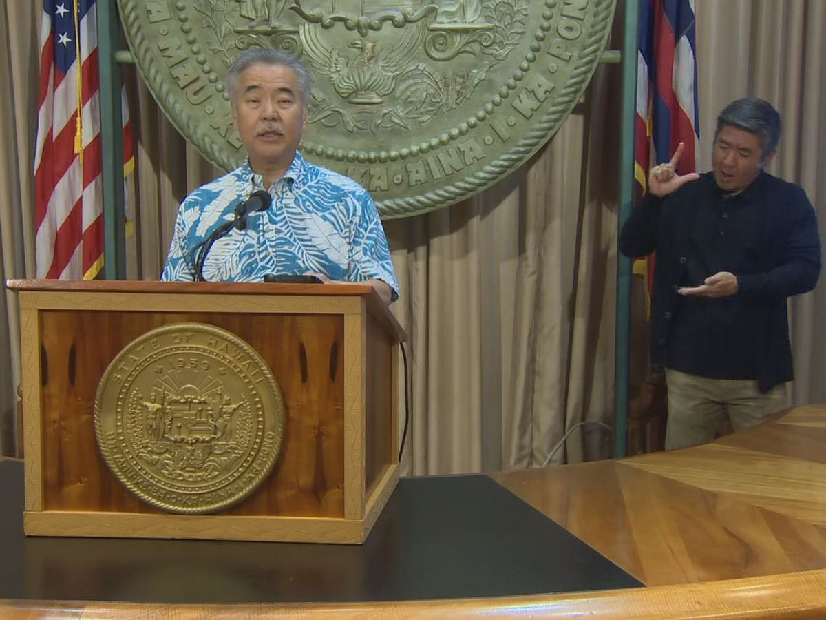 Gov. Ige: State facing $2.3B in lost tax revenue due to coronavirus pandemic