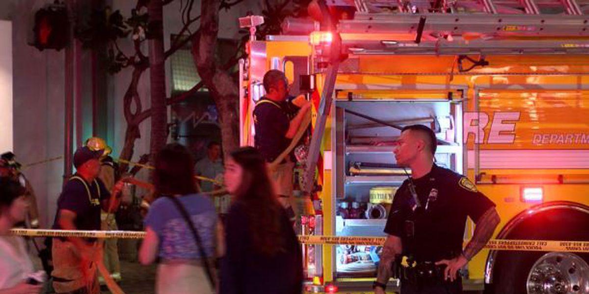 Police: 3-alarm blaze at Waikiki hotel may have been set by burglars