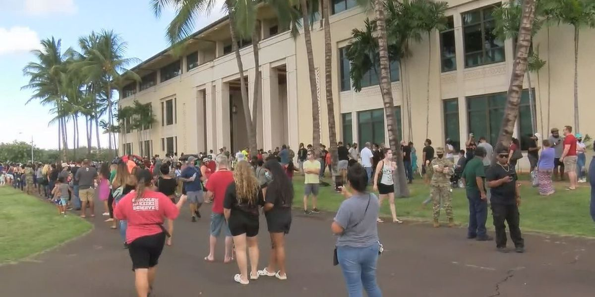 Hawaii sees surge of last-minute voters casting ballots in person