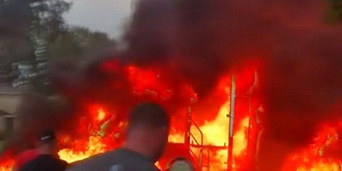 Arson suspected in playground fire at Schofield Barracks