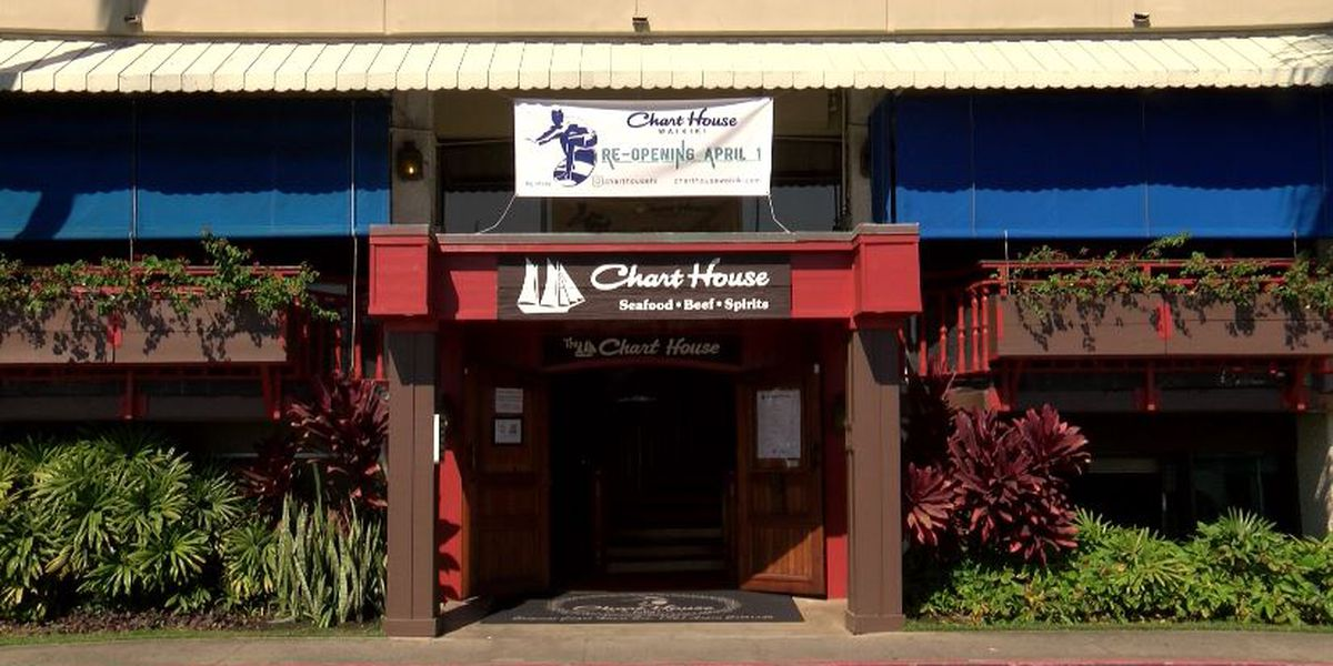 After closing last year, Chart House Waikiki is back with a new look and a new menu