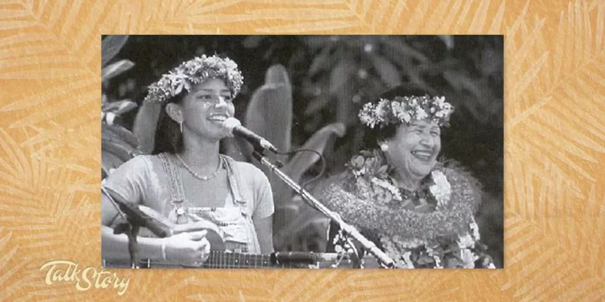 "Pomaikaʻi Lyman shares stories, music from her tutu ""Aunty"" Genoa Keawe"