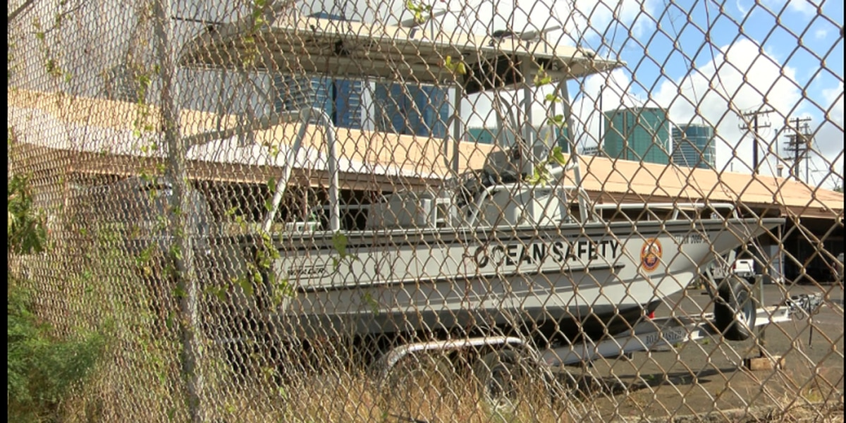 A rescue boat that cost taxpayers $118K sits mostly idle in a Kewalo Basin yard