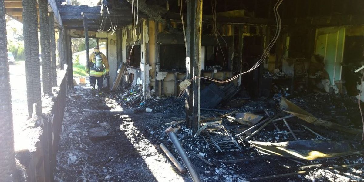 Fire rips through pro shop, offices at Big Island golf course