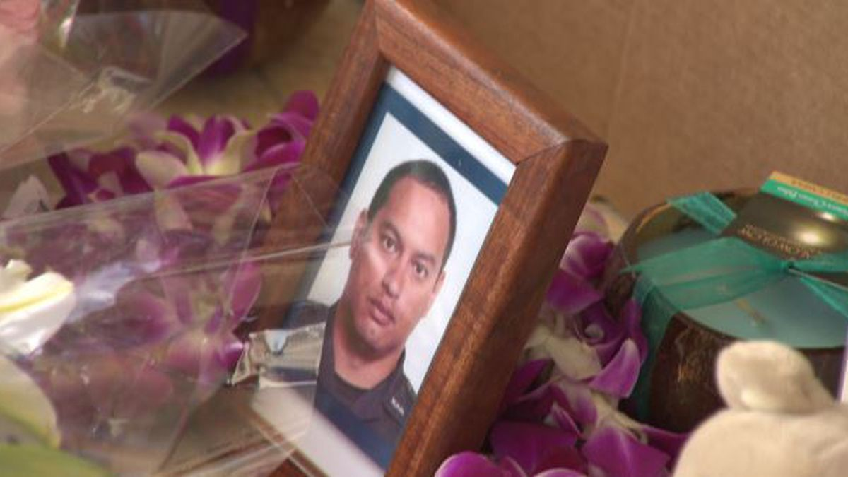 Date set for memorial services of fallen HPD Officer Kaulike Kalama