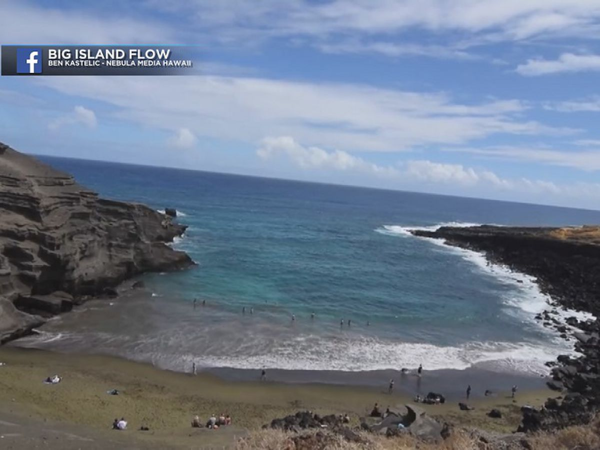 Good Samaritans, firefighters save woman's life at Green Sands Beach