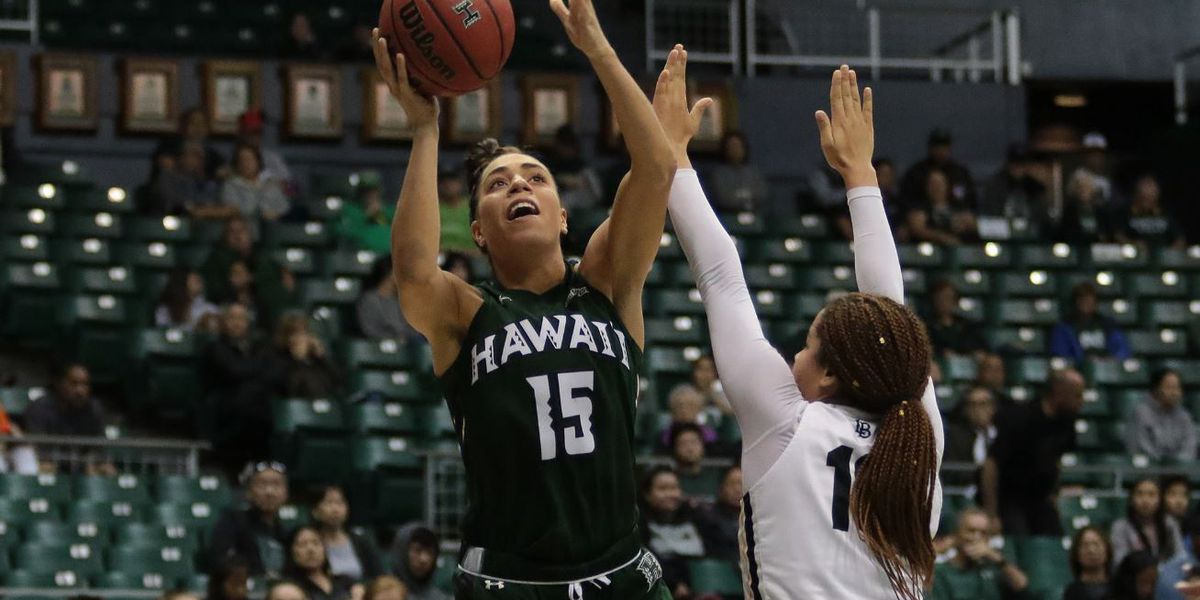 Wahine notch third win in a row with 68-44 drubbing of LBSU