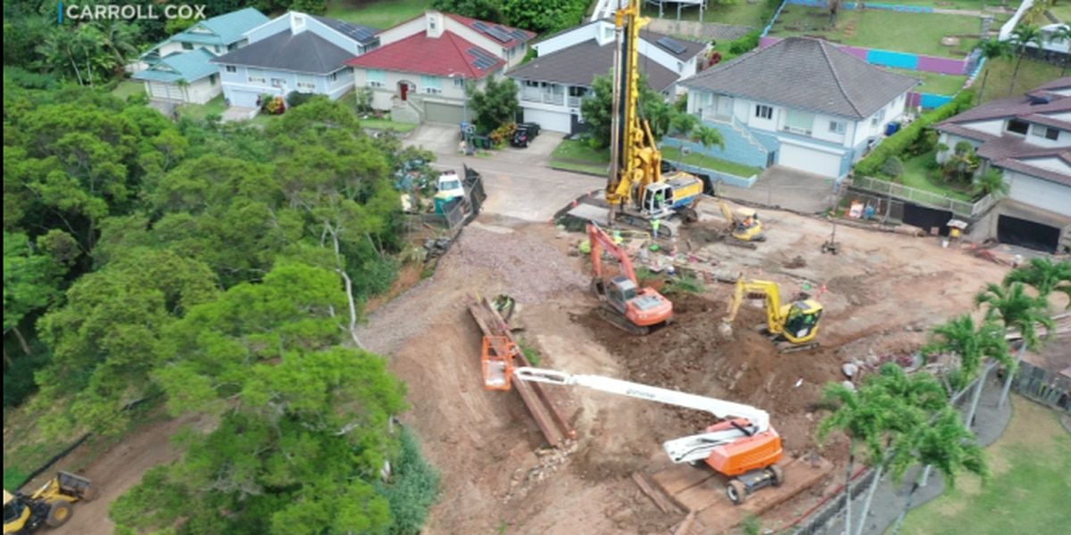 Kailua residents say city to blame for growing sinkhole that's threatening homes