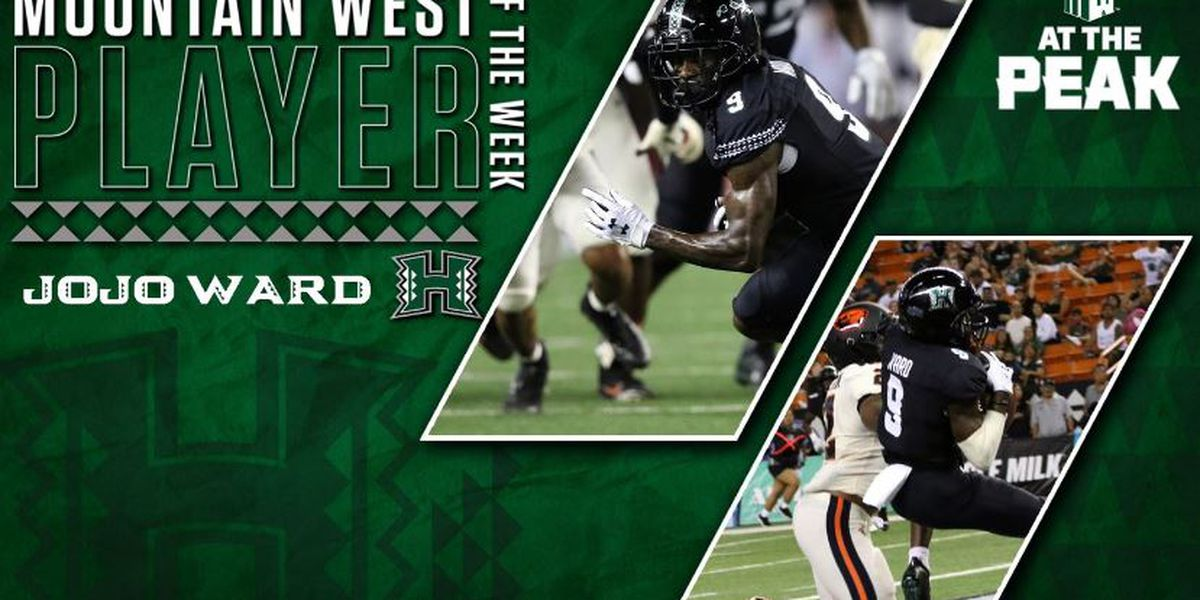 Jojo Ward notches Mountain West Conference Player of the Week