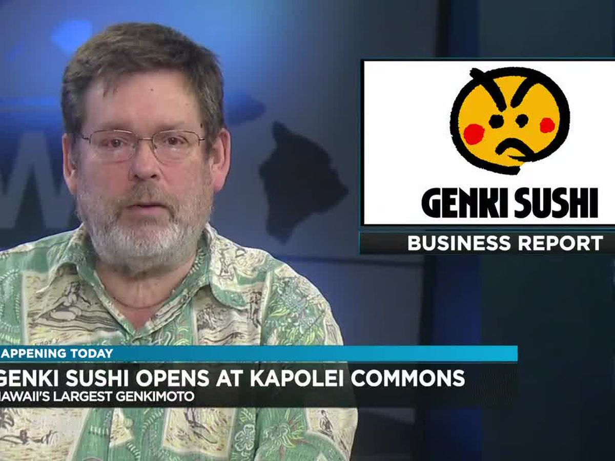 Business Report: Genki Sushi opening, Fun Factory opening, new COO at Straub Medical Center